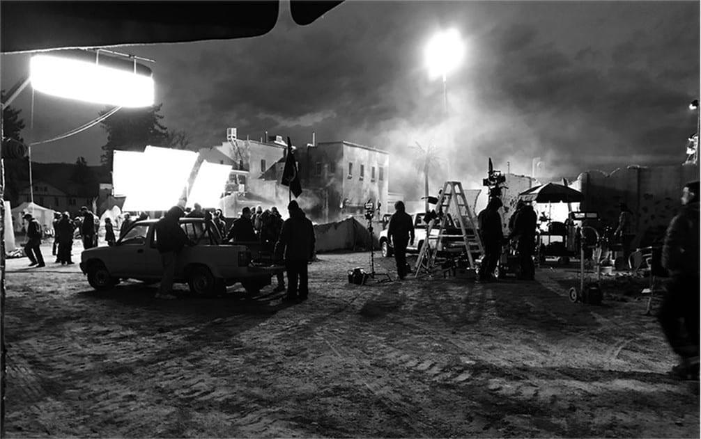 Image of a film set. Find Film Jobs