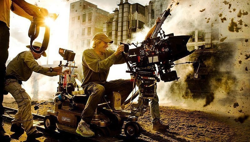 Behind the scenes of a Hollywood blockbuster.