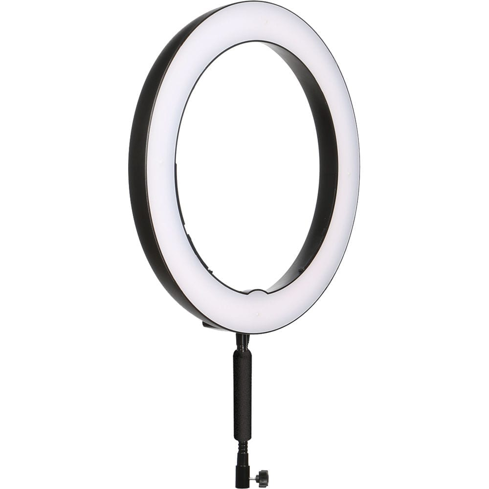 A photo of a ring light