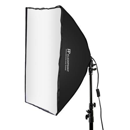 A photo of a softbox light